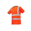 T-SHIRT AMENO ROUGE FLUO