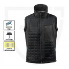 GILET DE TRAVAIL BODYWARMER ADVANCED NOIR /ANTHRACITE FONCE 4XL