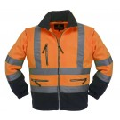 VESTE DE TRAVAIL STATION HV ORANGE/GRIS