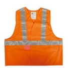 GILET DE TRAVAIL HV ATEX SECUECO ORANGE FLUO T.XL