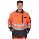 VESTE ROADY ORANGE FLUO/CONVOY