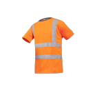 T-SHIRT DE TRAVAIL AMENO ORANGE FLUO