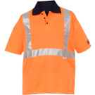 POLO FLUO HV PURPOSE ORANGE