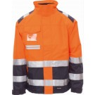 VESTE FEMME HV HI-SPEED LADY ORANGE FLUO/BLEU MARINE