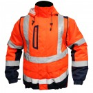 BLOUSON ILONA 4 ORANGE FLUO MARINE