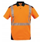 POLO DE TRAVAIL HV ORANGE BORNEO