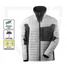 VESTE DE TRAVAIL CLIMASCOT ADVANCED BLANC/ANTHRACITE FONCE 3XL
