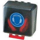 SECUBOX MIDI BLEU PICTOGRAMME ANTI BRUITS