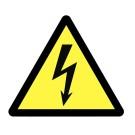 PANNEAU PVC 100X100X100MM DANGER ELECTRIQUE