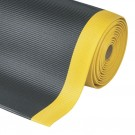 TAPIS ANTIFATIGUE & ANTIDÉRAPANT CROSSRIB JAUNE/NOIR 91 CM x LE ML